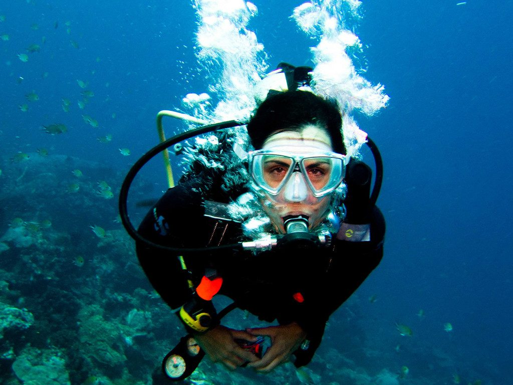 Diving in the deep water - Boyle's law application
