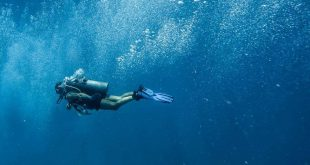 diving into deep water - application on Boyle's law
