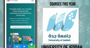 The University of Jeddah Will Benefit from Using PraxiLabs Simulations in Their Courses