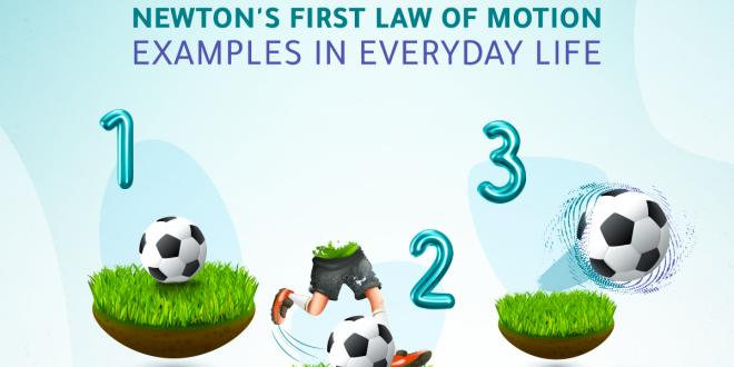 Newton's First Law of Motion Examples in Everyday Life