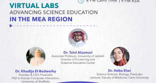 """PraxiLabs Will Hold Its August Free Webinar on """"Virtual Labs Advancing Science Education in the MEA Region"""""""