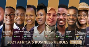 A Giant Leap: PraxiLabs Ranks among Africa's Top 10 Business Heroes