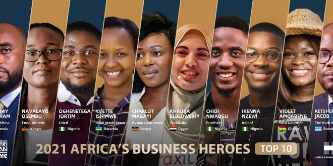 PraxiLabs Ranks among Africa's Top 10 Business Heroes